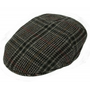 New York Hat ニューヨークハット 9033 Lined Woolrich Plaid Pub ウールリッチ プレイド パブ Grey
