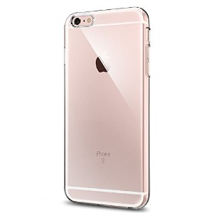 【Spigen】 iPhone6s Plus ケース, [ ハードケース スリム ] シン ・フィット アイフォン 6s Plus 用 (iPhone6S プラス , クリスタル・クリア)