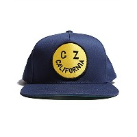 Cycle Zombies(サイクルゾンビーズ)REAPER SMILE Premium Twill Snapback Hat Navy