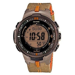 腕時計 カシオ Casio Analog Multi-Colour Dial Men's Watch - PRW-3000B-5DR【並行輸入品】