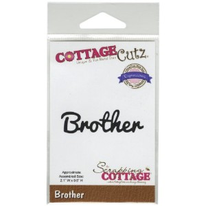 "CottageCutz Expressions Die 2.1""X.6""-Brother (並行輸入品)"