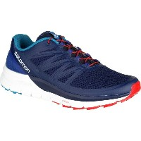 サロモン Salomon メンズ ランニング シューズ・靴【Sense Pro Max Trail Running Shoes】Blue Depths/White/Fiery Red