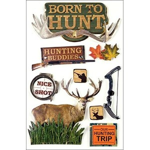 Paper House 3D Stickers-Born To Hunt (並行輸入品)