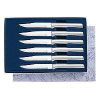 High Quality S6S 6-piece Serrated Steak Knives Gift Set
