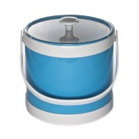 Mr. Ice Bucket 471-1 Springtime 3-Quart Ice Bucket, Turquoise [並行輸入品]