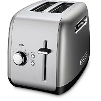 2-Slice Toaster with Illuminated Buttons in Contour Silver by KitchenAid