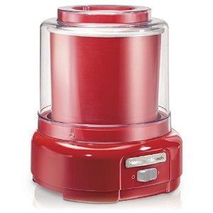 Hamilton Beach Ice Cream Maker, 1.5-Quart, Red (68881Z) [並行輸入品]
