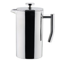 MIRA Small Stainless Steel French Press - 3 cups (4 oz each) Coffee Plunger, Press Pot, Best Tea...