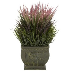 Nearly Natural 4124 Grass Decorative Silk Plant Indoor/Outdoor, Mixed by Nearly Natural [並行輸入品]