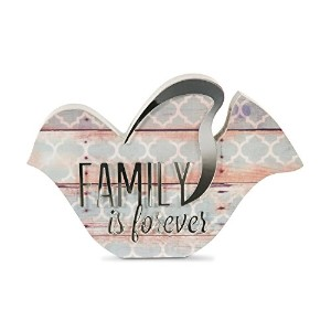 Pavilion Gift Company 31053 Family is Forever Bird Plaque, 5' [並行輸入品]