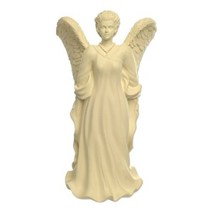 Angelstar Dignity Angel Keepsake, 8-1/2-Inch, Includes Area to Hold Keepsakes with Lid, 10 Cubic...