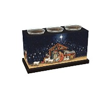 Lang Holy Family Votive Box by Susan Winget [並行輸入品]