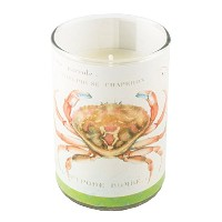 Mudlark Glass Soy Wax Candle, Sinclair, Bimini [並行輸入品]