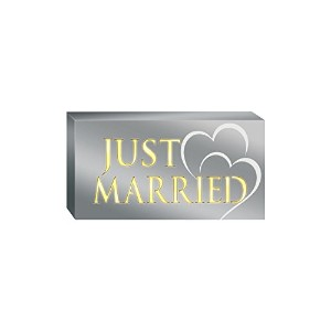 Prinz Just Married LED Plaque [並行輸入品]