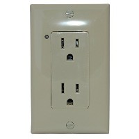 Simply Automated URD-30-I Controlled Receptacle, Ivory [並行輸入品]