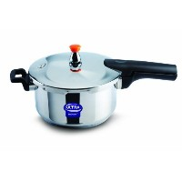 Elgi Ultra EU-4.5L Stainless Steel Pressure Cooker, 4.5-Liter by Elgi Ultra [並行輸入品]