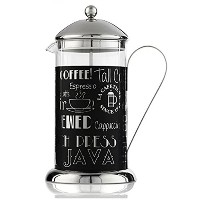 La Cafetiere 5164447 Wake Up and Smell The Coffee 8 Cup French Press, Black [並行輸入品]