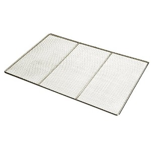 Focus Foodservice 17 by 25-Inch Woven Stainless Steel Fryer Grate [並行輸入品]