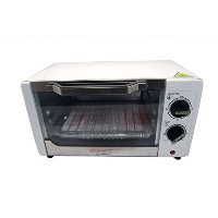 Cookmate by Viasonic 9L 4 Slice Toaster Oven, White [並行輸入品]