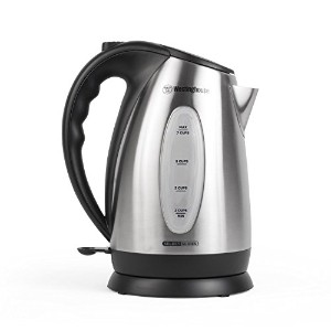 Westinghouse WKE10SSA Select Series 7 Cup Stainless Steel Electric Kettle, 1.7 Liter [並行輸入品]