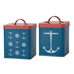 Now Designs Tins, Set Sail, Set of 2 [並行輸入品]