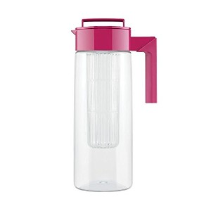 Takeya Flavor Infusion Maker, 2 Quart, Raspberry [並行輸入品]