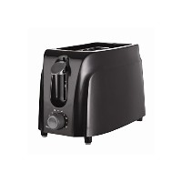 Brentwood Appliances TS-260B 2-Slice Cool Touch Toaster, Black [並行輸入品]
