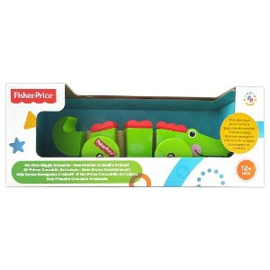 Fisher-Price My First Wiggly Crocodile Pretend Play [並行輸入品]