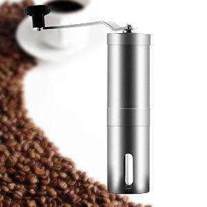 [Manual Coffee Grinder ] I2crazy? Most Consistent Manual Coffee Grinder with Adjustable Ceramic...