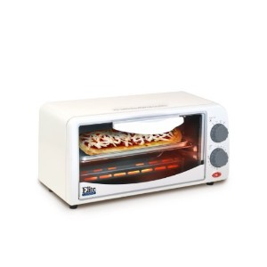 MaxiMatic ETO-113 Elite Cuisine 2-Slice Toaster Oven with 15 Minute Timer, White [並行輸入品]
