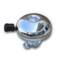 Firmstrong Classic Beach Cruiser Bicycle Bell, Chrome [並行輸入品]