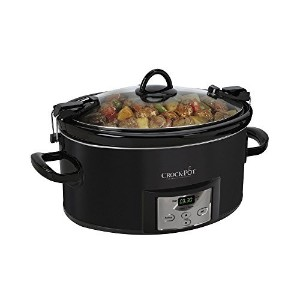 Crock-Pot 7-Qt. Cook n' Carry Programmable Countdown Slow Cooker [並行輸入品]
