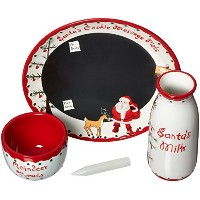 Child to Cherish Santa's Message Plate Set [並行輸入品]