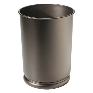 InterDesign Cameo Tall Waste Can, Bronze [並行輸入品]