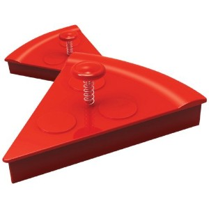 DCI 43598 'Pizza Slice' Cookie Cutter, Red [並行輸入品]