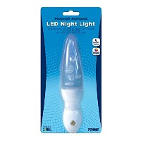 Prime Wire & Cable NLACG2L Automatic Night Light with Color Changing LED Lamp, 1-Pack [並行輸入品]
