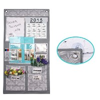 Multi Pocket Non-woven Fabric Over the Door/Wall Hanging Shelf Storage Bag Caddy Organizer Tidy...