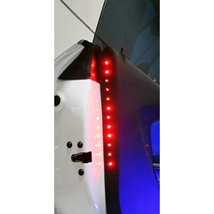 Delta 03-9512-50R Universal 2-inch by 12-inch LED Safety Accent Light Strip, Red [並行輸入品]
