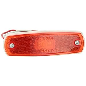 Grote 47262 Red SuperNova Low-Profile LED Clearance Marker Light (out Bezel) [並行輸入品]