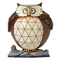 ENESCO(エネスコ) Pint Sized Lazy Owl Pint Sized Lazy Owl Wise And Well-Rounded 4047077 [並行輸入品]