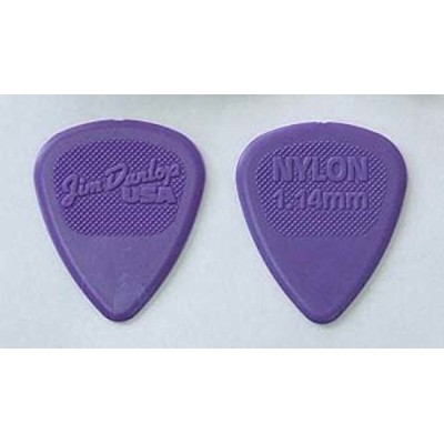 JIM DUNLOP 443R NYLON MIDI STD 1.14 ピック×12枚