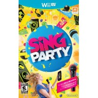 Wii U Sing Party with Wii-U Microphone