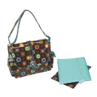 Kalencom Midi Coated Buckle Diaper Bag - Dots by Kalencom