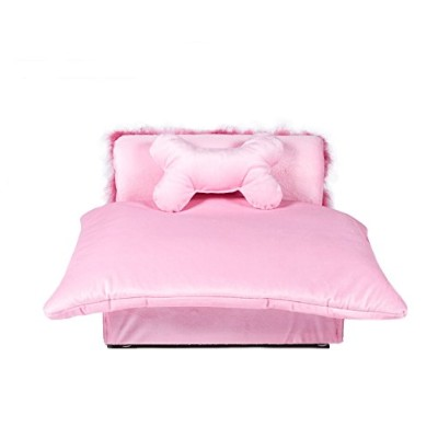 Mini Bed Pink Pet Bed by Keet