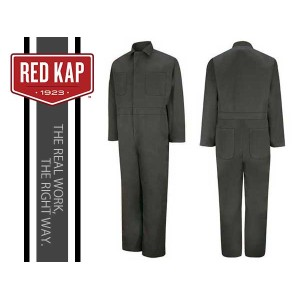 REDKAP(レッドキャップ)TWILL ACTION BACK COVERALL【CHARCOAL】カバーオール チャコール