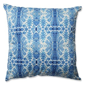 Pillow Perfect Rue Sapphire Throw Pillow, 16.5-Inch by Pillow Perfect [並行輸入品]