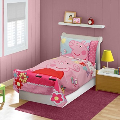 Peppa Pig Adoreable Toddler Bed Set, Pink by Peppa Pig [並行輸入品]