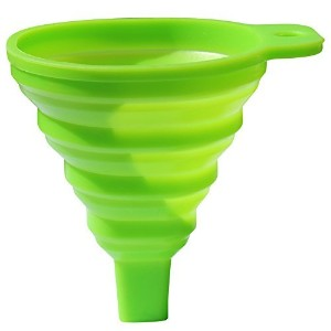 PerfectHelper Collapsible Funnel Foldable Foldable Funnel For Liquids by Intertwined Essentials