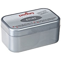 Pedag Shine Instant Shine for All Smooth Leathers, Imitation and Synthetic Leathers, 2.2 Ounce ...