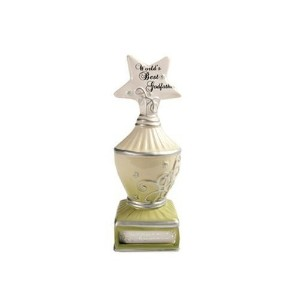 My Star by Pavilion World's Best Godfather Trophy Figurine/Coin Bank, 7-Inch Tall [並行輸入品]